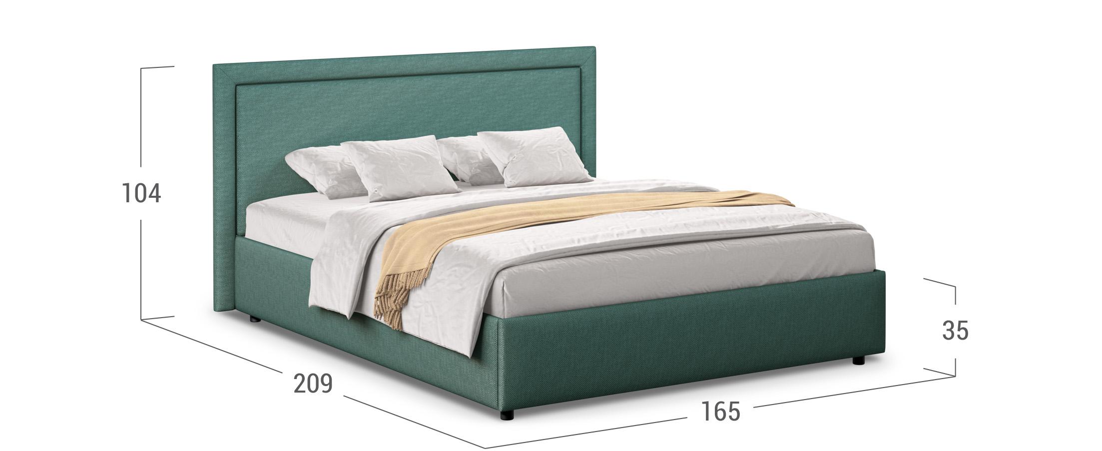Кровать двуспальная Паола 140х200 Модель 1201